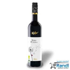 Вино червено Kafer Nero D`avola 750мл.