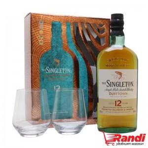 Уиски Singleton 12г. 700мл. + 2чаши