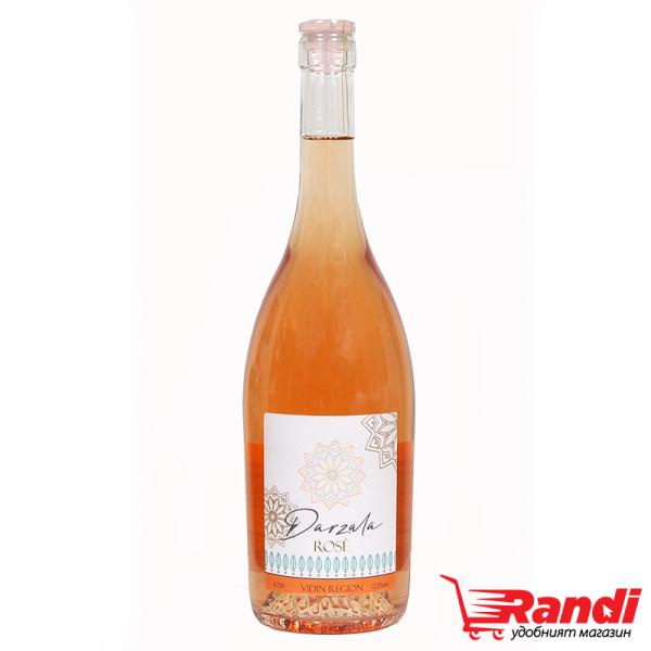 Вино розе Darzala 750мл.