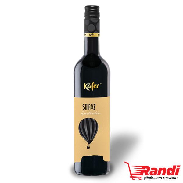 Червено вино Kafer Shiraz 750мл.