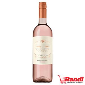 Розе Castelli Pinot Grigio Blush 750мл.