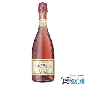 Пенливо вино Lambrusco Rosato Rose Di Bacco 750мл.