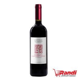 Вино Chateau des Bergers Мерло&Каберне фран 750мл.