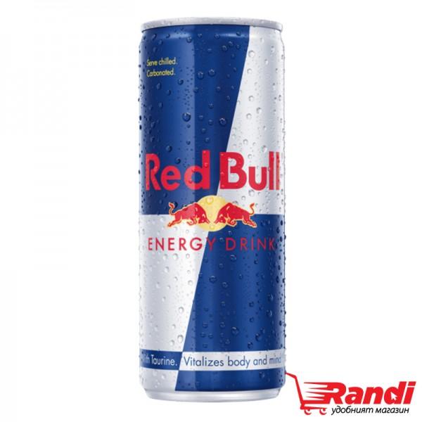 Енергийна напитка Red Bull 250мл.