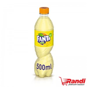 Газирана напитка Fanta лимон 500мл.