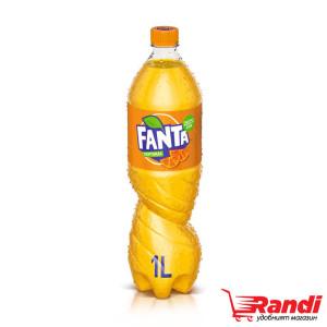 Газирана напитка Fanta портокал 1л.