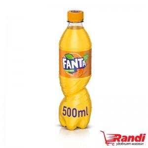 Газирана напитка Fanta портокал 500мл.