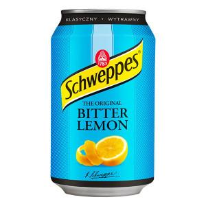 Schweppes битер лимон кен 330мл.