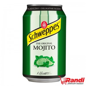 Газирана напинка Schweppes Mojito 330мл.