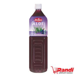 Напитка Aloe Боровинка Dellos 1,5л.