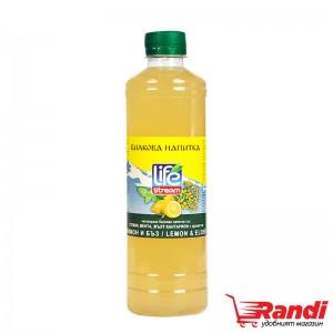 Билкова напитка Life Stream Лимон и бъз 500мл.
