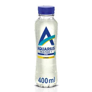 Функционална напитка с добавен цинк и вкус на лимон Aquarius Water+ 400мл.