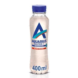 Функционална напитка с добавен магнезий и вкус на червен портокал Aquarius Water+ 400мл.