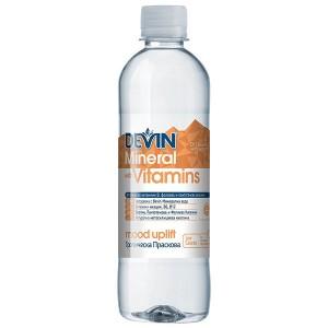 Негазирана безалкохолна напитка тропическа праскова Девин 425мл.