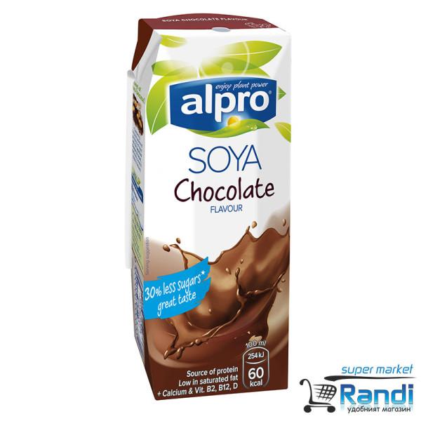 Соева напитка шоколад Alpro 250мл.