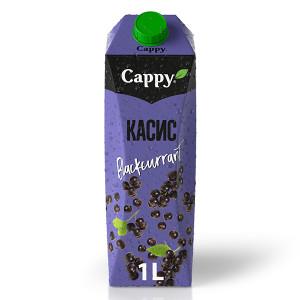 Плодова напитка Cappy касис 1л.
