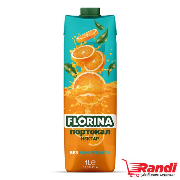 Нектар Florina портокал 1л.