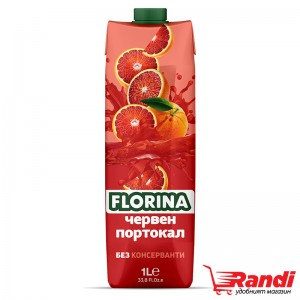 Нектар Florina червен портокал 1л.
