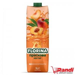 Нектар Florina праскова 1л.