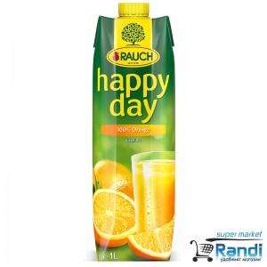 Сок Rauch Happy day портокал 1л.
