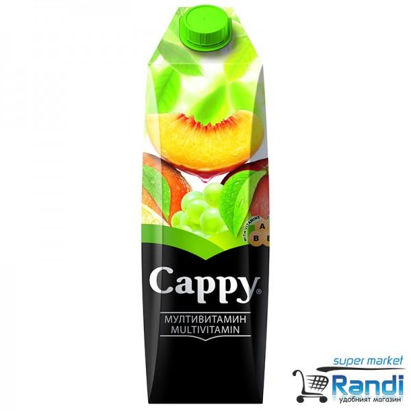 Плодова напитка Мултивитамин  Cappy 1л.