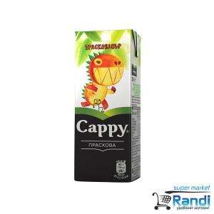 Плодова напитка от Праскова Cappy  200мл.