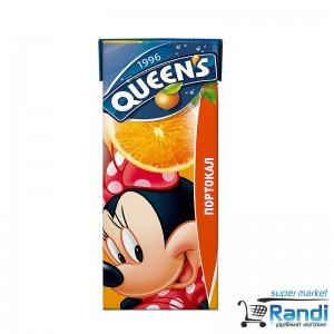 Напитка от Портокал Queen's 200мл.
