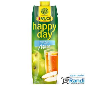 Нектар от ябълка 100% с мек вкус Rauch Happy Day 1л.