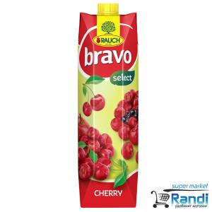 Плодова напитка от Вишна Bravo 1л.