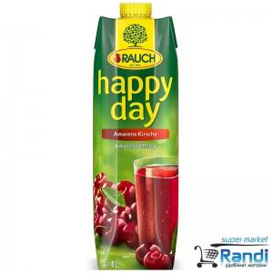 Нектар от вишна Rauch -Happy Day 1л.