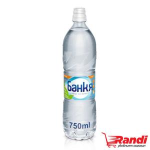мин. вода Банкя 750 мл. спорт
