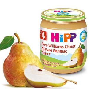 Пюре с био круши Уилямс Крист 100% плодове Hipp 125гр.