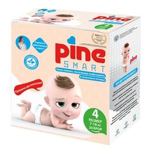 Умни Пелени Pine Smart (4) 7-18кг. 20 броя
