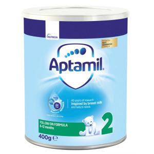 Мляко за кърмачета от 6 до 12 месеца Aptamil 2 400гр.