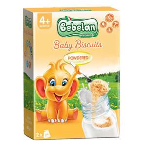 Бебешки гранулирани бишкоти 4+месеца Bebelan 400гр.