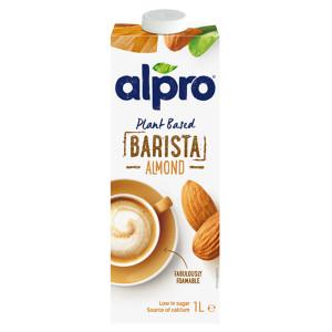 Бадемова напитка Alpro Barista 1л.