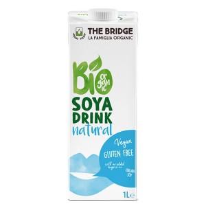 Био Соева напитка без глутен The Bridge 1л.