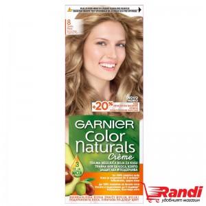 Боя за коса Garnier Naturals естествен светло рус №8