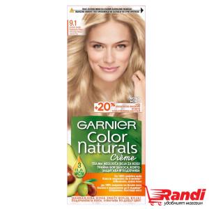 Боя за коса Garnier Naturals пепеляво много светло рус №9.1