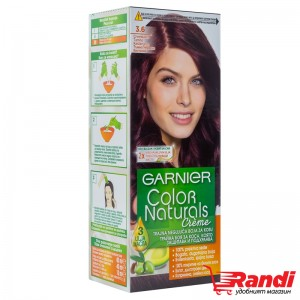 Боя за коса Garnier Naturals тъмно червено кестеняв №3.6