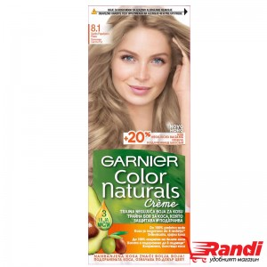 Боя за коса Garnier Naturals пепеляво светло рус №8.1