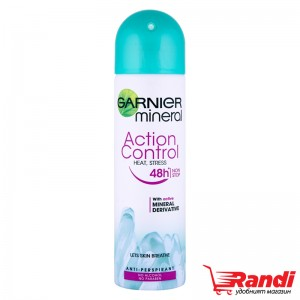 Дезодорант Action Control Heat, stress Garnier 150мл.