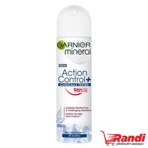 Дезодорант Action Control + Garnier 96h 150мл.