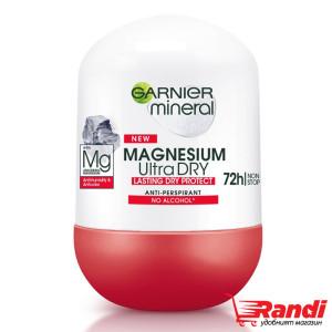 Рол-он Magnesium Ultra Dry Garnier Mineral 50мл.