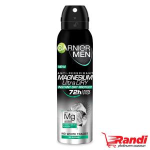 Дезодорант Magnesium Ultra Dry 72h Garnier Men 150мл.