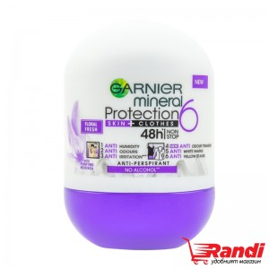 Рол-он Protection Floral Fresh Garnier mineral 50мл.