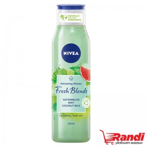 Душ гел Nivea Fresh Blends диня 300мл.