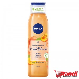 Душ гел Nivea Fresh Blends манго-кайсия 300мл.