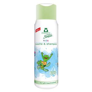 Детски душ гел и шампоан 2в1 Frosch 300мл.