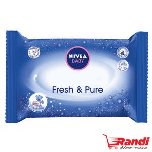 Мокри кърпички Nivea Baby Fresh&Pure 63бр.